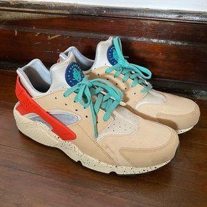 NIKE Air Huarache Run Premium 'Desert Ore' Shoes